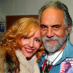 Tommy Chong and Shelby