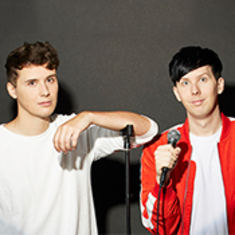 Dan and Phil at Bellco Theatre